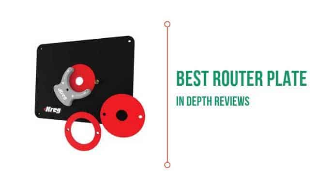 One of the best router plates