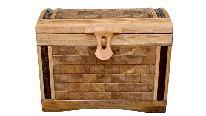 DIY Oak Chest Idea For Hobbyists.