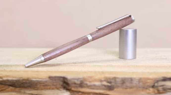 It describes how a Pen Made From Wood.